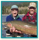 Enjoy spectacular fishing in the Lake Quinault area